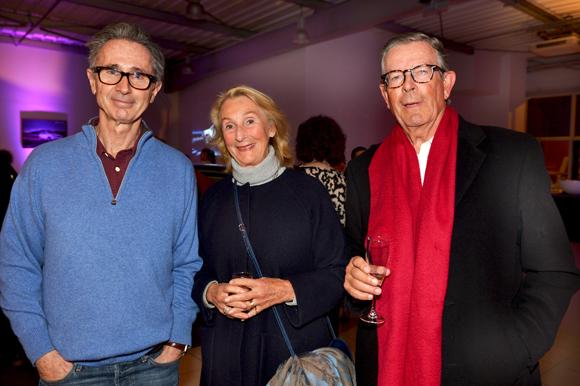 37. Thierry Lhermitte, Hendrik Koopman (Idrac) et son épouse Théa