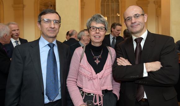 37. Gilles Durel (Promofluvia), Véronique Sartre (CNR) et David Soret (Suez Consulting)