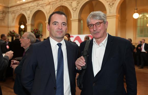 39. Samuel Riblier (Viennagglo) et Dominique Largeron (Lyon Entreprise)