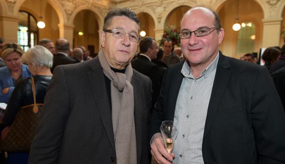 41. Alain Martin, maire du Pouzin et Jean-Pierre Cheval (Groupe Cheval)