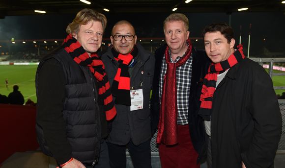 45. Hervé Reynaud (Les Voiles du Grand Large), Tony Goupil (Champagne Pommery), Michel Lopez (Korloff) et Guillaume Robert-Delore (Mondial Protection)