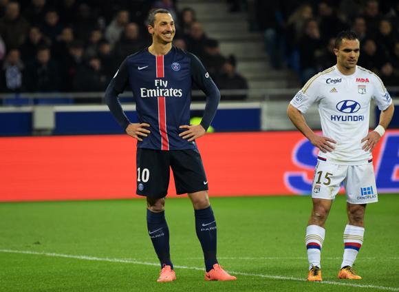 45. Zlatan Ibrahimovic, pour sa première défaite