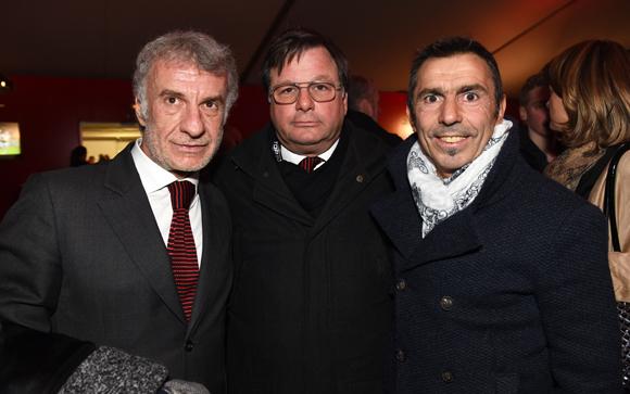 46. Francis Héritier (Caps), Franck Isaac-Sibille (LOU Rugby) et Serge Dubois (Caps)