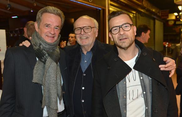 4. Thierry Bourgeron (GL Events), Alain Cellerier et son fils Pierre-Guy (Cellerier)