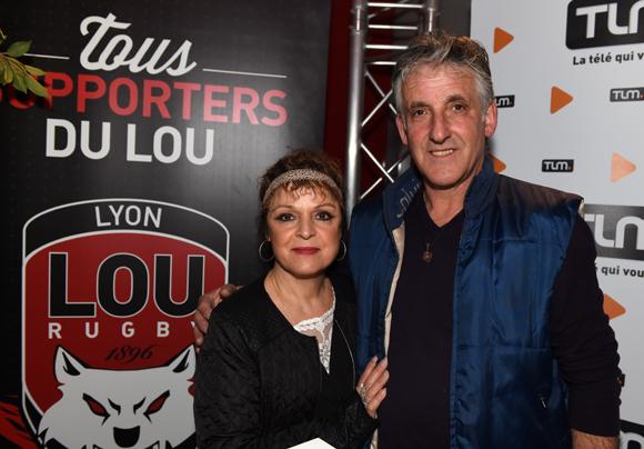 5. Jean-Claude Moggio et son épouse Dominique
