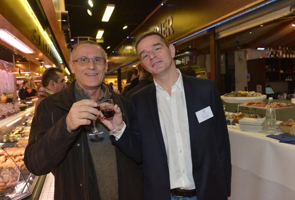5. Patrick Janin (Metaldyne) et Bertrand Bourgeron (Agence Tous Risques)