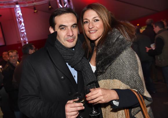 6. Stéphane Grando (Konica-Minolta France) et Valérie Mikaelian (Allianz)