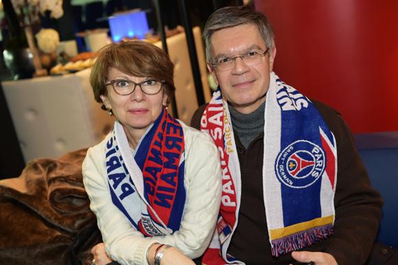 6. Jean-Marie Morin (Société Générale) et son épouse Sylvie (CPAM)
