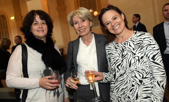 7. Pascale Ammar-Khodja (Métropole de Lyon), Myriam Picot, maire du 7ème et Dominique Hervieu (Maison de la Danse)