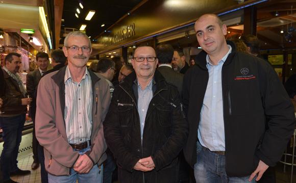 8. Patrice Pattier (ATR), Richard Khettar (Derichebourg) et Félix Navarro (ATR)