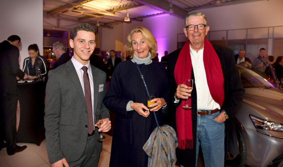 8. Emilien Agron (Lexus), Hendrik Koopman (Idrac) et son épouse Théa
