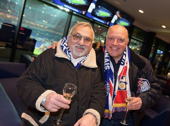 8. Marcel Aubour, ancien gardien de l'OL et Olivier Fuchs (Chez Fuchs)