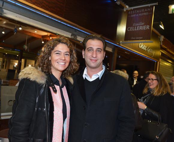 9. Marion Ploton (CGPME) et son époux Julien (Terre Adélie)