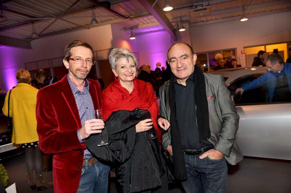 9. Franck Caccia (Axwell), Joëlle Caccia et Jacky Peltier