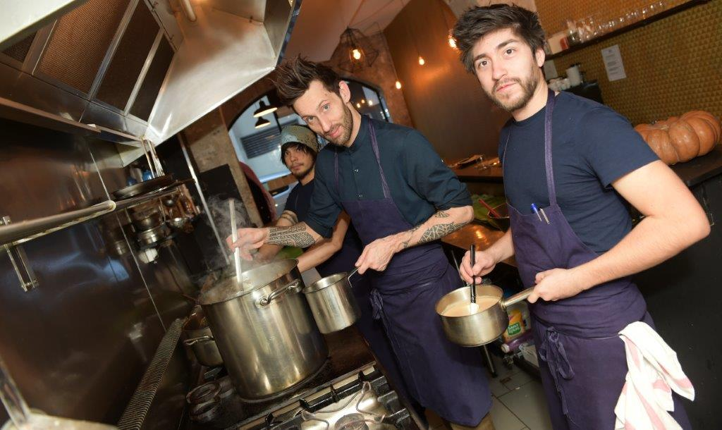 La Bijouterie. Trio de bourlingueurs culinaires