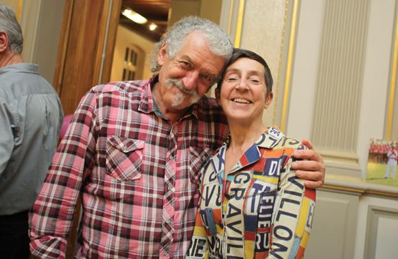 12. Gerard Caprini et Sylvie Charpiat (Courir pour Elles)