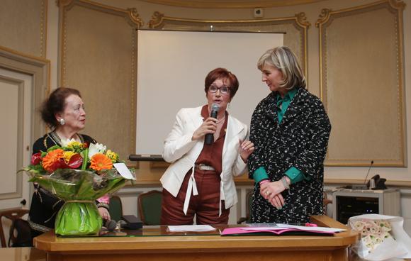 26. Nicole Chevassus, ancien maire du 6ème, marraine de Courir pour Elles