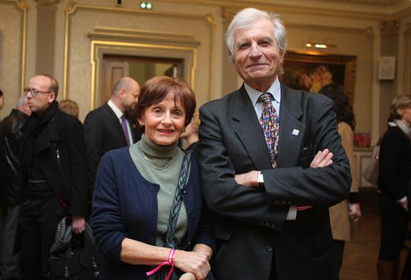5. Jeanine Chambat et le docteur Marc Istier (Ligue contre le Cancer-Comité du Rhône)