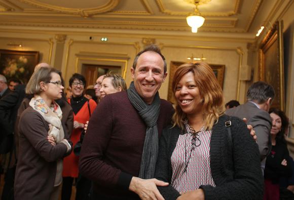8. Christian Gauchier (Mairie du 6) et Odile Castrien, bénévoles Courir Pour Elles