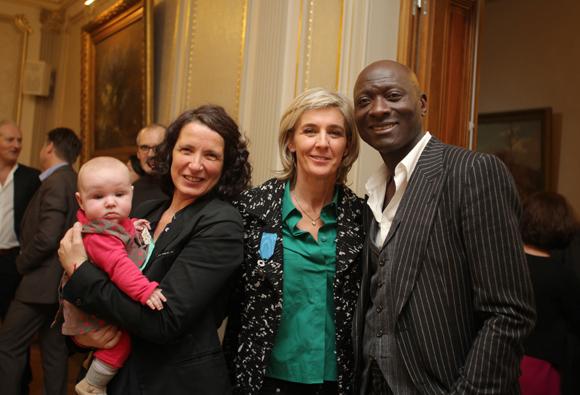 9. Sylvie Brivet, Sophie Moreau et Antoine Piat (Courir pour Elles)