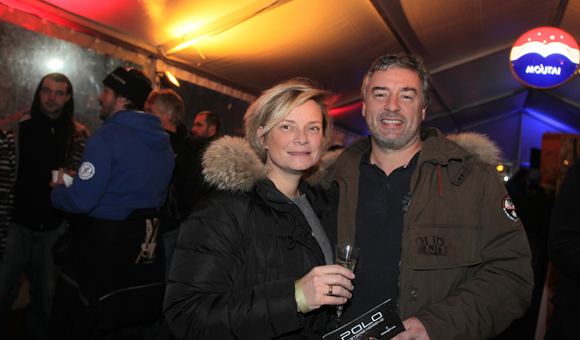 1. Karine Deletraz le Roy, son époux Damien le Roy (DLR Group)