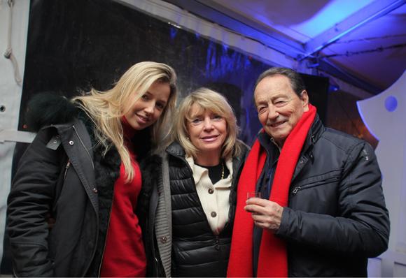 14. Nathalia Cardis (JP Morgan), Ewa Cardis, son époux François