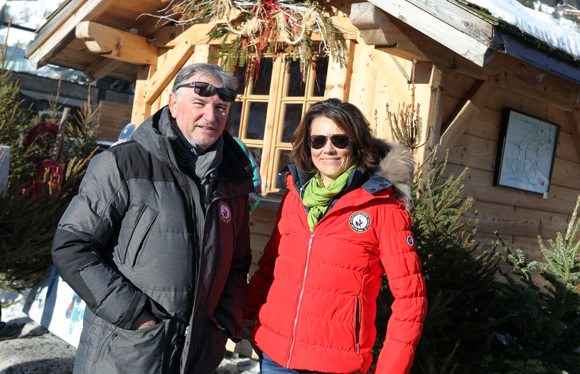 2. Les organisateurs Jean-Yves Delfosse et Florence Pezet Bertrand