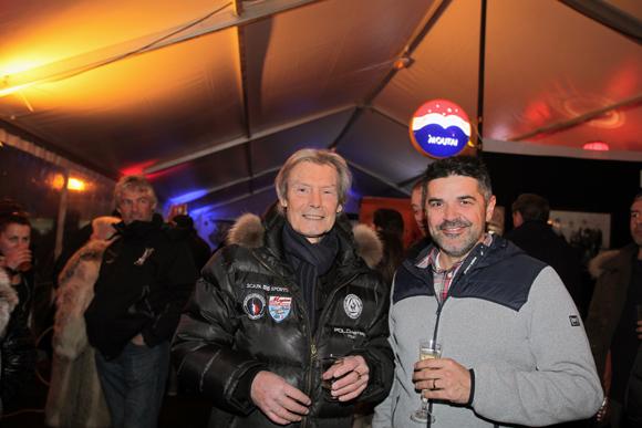 4. Jean-Louis Barnoin (Champagne Pommery) et Sébastien Tournissoux (Rhône Alpes Distribution)