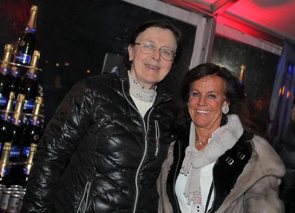 5. Sylviane Grosset-Janin, ancienne maire de Megève et Béryl Maillard, consul de St Domingue