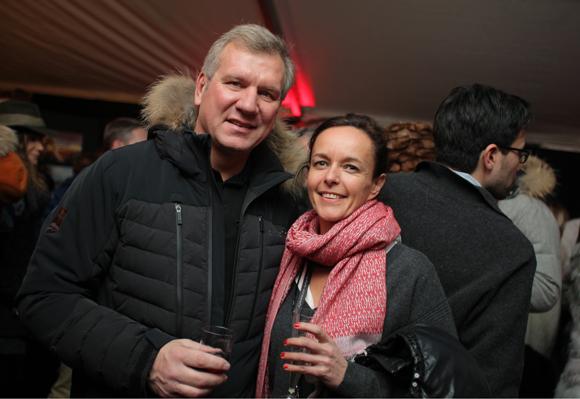 7. Marc Bechet (Rhône-Alpes Tourisme) et Sophie Delahaye Guivarc'h, journaliste indépendante