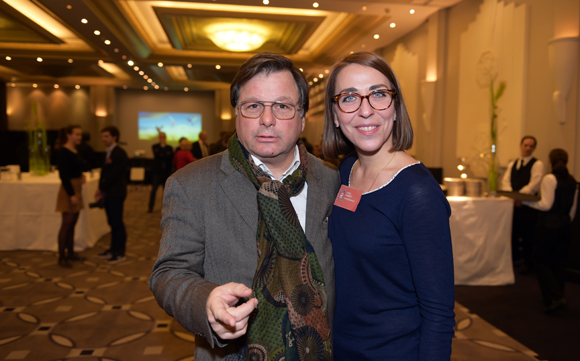 10. Franck Isaac-Sibille (LOU Rugby) et Audrey Monnot (Groupe Bernard)