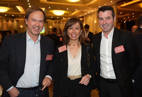 12. Michel Guigues (Team Partners), Anne Guigues (Les Pages Jaunes) et Hervé Veronese (Bouygues Construction)
