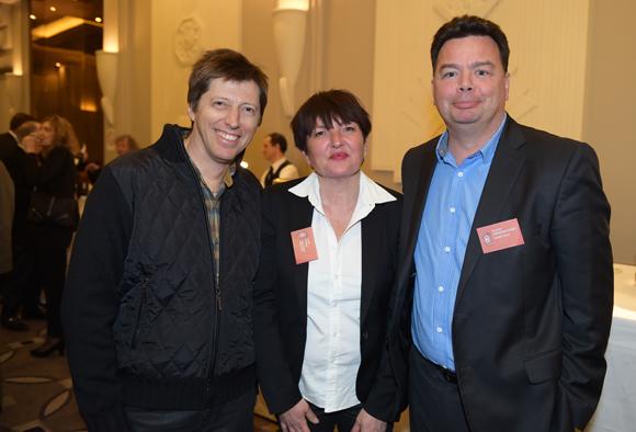 15. Vincent Maureau (IRL), Annie Presle (Média Sport Promotion) et Goulven Deregnaucourt (Cabinet DGCM)