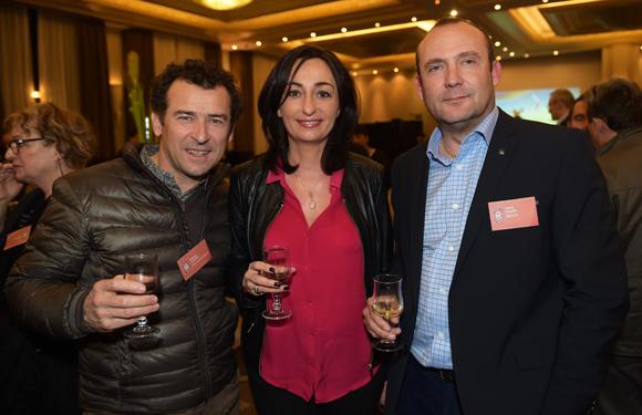 16. Philippe Claudel (Golf du Gouverneur), Véronique Speltdoorn (Accile) et Lionel Mader (Receptis)