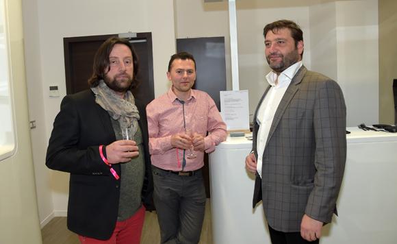 17. Jean-Pierre Berthollier (GAEC Pont Blanc), Lionel Perrin (HBP) et Marcel Prolange (Setreal)