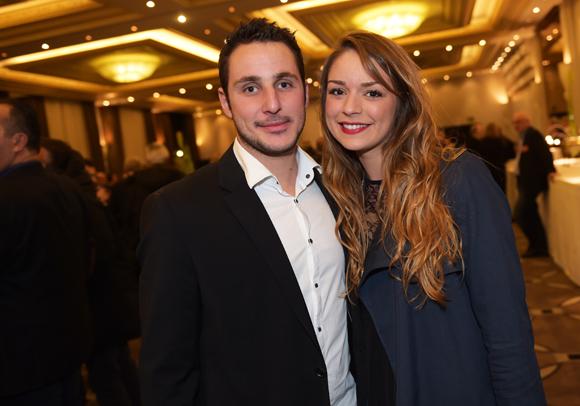 18. Florian Rias (Rias Immobilier) et Sophie Lacarelle (Amilton)