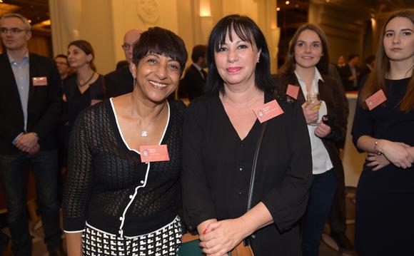 21. Djamila Calla (Ccom Calla) et Véronique Romo (Galeries Lafayette)