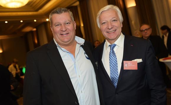 22. Christophe Gerbaud (Assurances Paris-Gerbaud) et Marc Fraysse (Cofely GDF Suez)