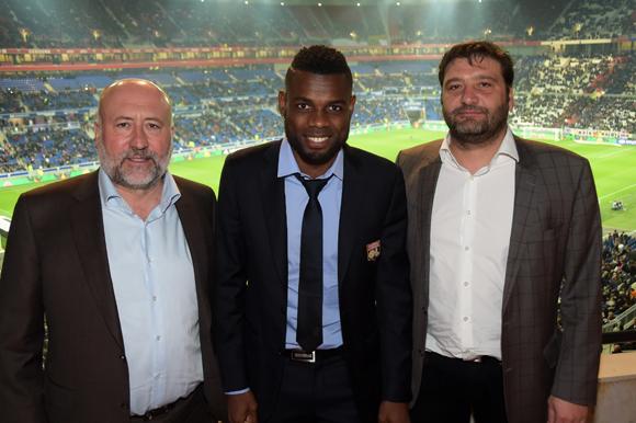 24. Jean-Luc Remilly, Henri Bedimo (OL) et Marcel Prolange (Setreal)
