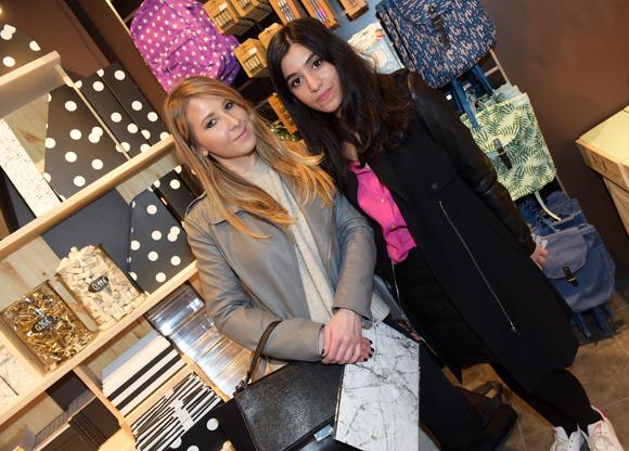 24. Les bloggeuses Laurie Gachet (With Style & Chic) et Ameni Ghandouri (Lyonnaises next door)
