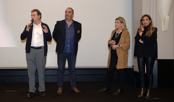 28. Jean-Claude Pietrocola, Pierre Nallet (AnaHome Immobilier), Chantal Partouche et sa fille Eva (Domaine le Lyon Vert)