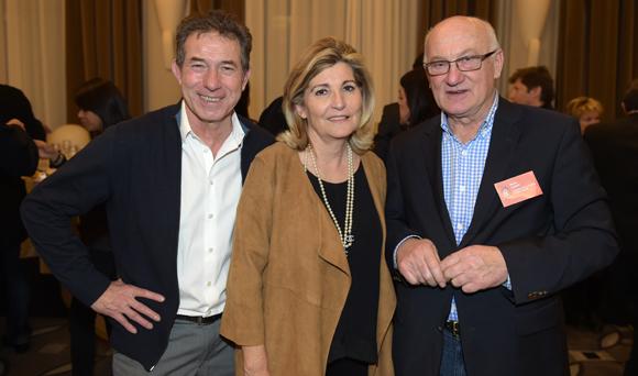 38. Jean-Claude Pietrocola (Média Sport Promotion), Chantal Partouche et Michel Glénat