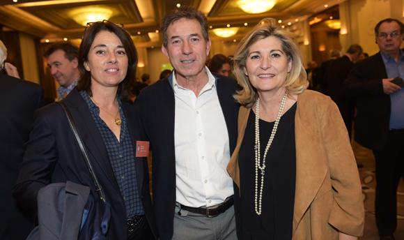40. Vinciane Neyret (Le petit Monde), Jean-Claude Pietrocola (Média Sport Promotion) et Chantal Partouche (Domaine le Lyon Vert)