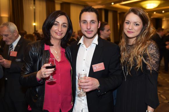 42. Véronique Speltdoorn (Accile), Florian Rias (Rias Immobilier) et Sophie Lacarelle (Amilton)