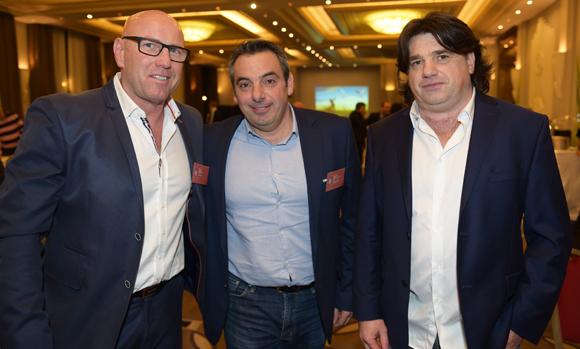 5. Gilles Darlet (AL&CO), Laurent Pietrocola (Média Sport Promotion) et Christophe Reigt (AL&CO)