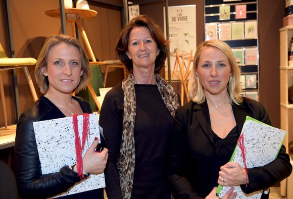 5. Catherine Ibled (C2C), Caroline Risso (SG Distribution) et Caroline Chambonniere (C2C)