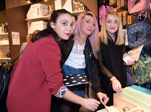 6. Les bloggeuses Ness Elbaz, Elsa Cazottes et Clémentine (ParisGrenoble)