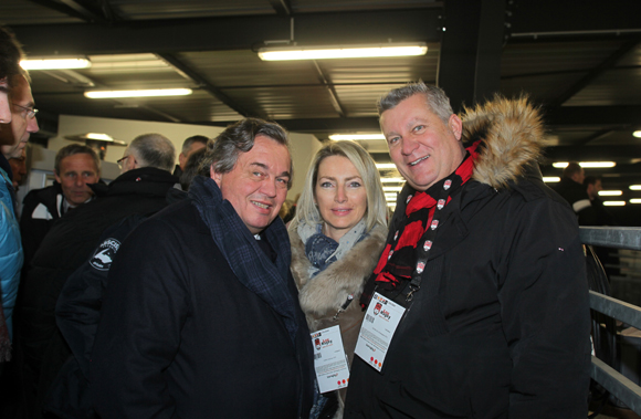 24. Olivier Ginon, président de GL Events, Corinne Paris et Christophe Gerbaud (Assurances Paris Gerbaud)