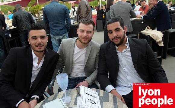 10. Eddy Hugo, Adrien Savoye et Younes Brourate