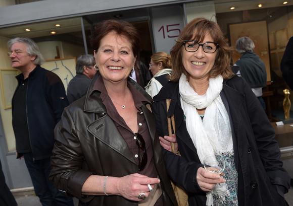 11. Les comédiennes Cathy Bodet et Valérie Gil